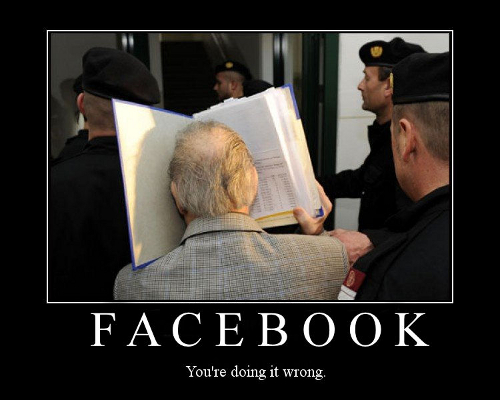 Facebook, you are doing it wrong