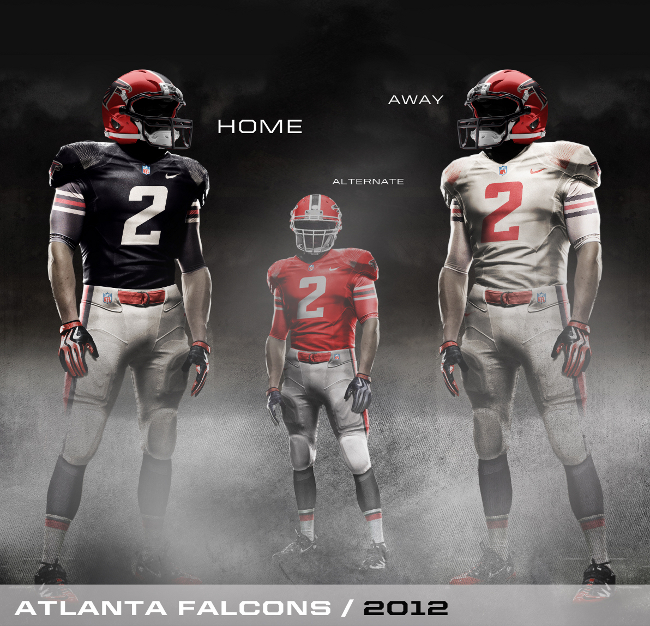 Nike 2010 Falcons Uniform Concept
